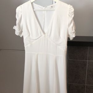 BNWOT white Wilfred dress